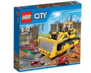 LEGO CITY 60074 BULLDOZER PALA DE DEMOLICION Y CONSTRUCCION